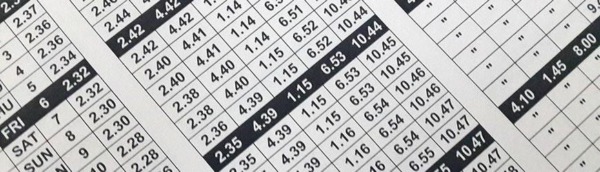 Salaah Timetables | Masjid e Tauheedul Islam, Blackburn